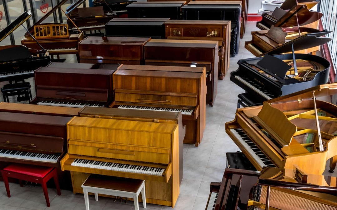 What are the four main factors to consider when buying a piano?